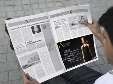#17 for Design an Advertisement by ZabssDesigner