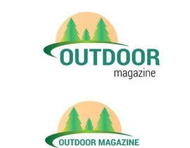#74 for Logo design for an outdoor magazine by tinamt719
