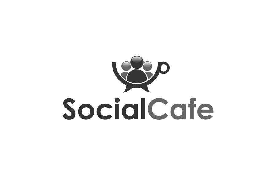 #353 for Logo Design for SocialCafe by logoustaad