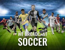 #78 for Football broadcast Wallpaper design by abdullahahmad657
