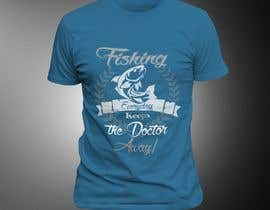 #45 for Design a T-Shirt For Fishing Shop by perspectivedebas