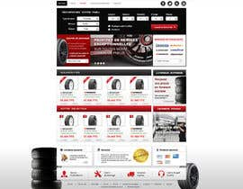 #38 for Website Design for Tyres af dragnoir