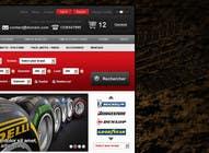 Graphic Design Inscrição do Concurso Nº31 para Website Design for Tyres