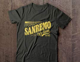 #68 for Sanremo Cafe Racer T shirt Design by Termoboss