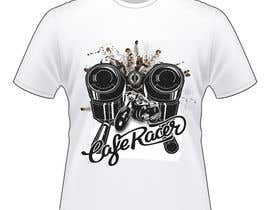 #92 for Sanremo Cafe Racer T shirt Design by kirteshIndia