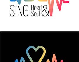 #15 for I need a logo for a singing workshop called 'Sing Heart and Soul' by priscillabaeta