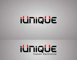 #15 for Design a Logo for online custom computer store named iUnique Custom Electronics by VaibhavPuranik