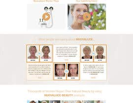 #29 for MODERN AND BEAUTIFUL LANDING PAGE NEEDED FOR BEAUTY COMPANY *URGENT* by nsrn7