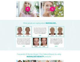 #33 for MODERN AND BEAUTIFUL LANDING PAGE NEEDED FOR BEAUTY COMPANY *URGENT* by nsrn7