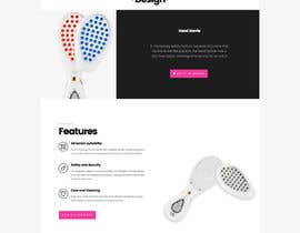 #9 for MODERN AND BEAUTIFUL LANDING PAGE NEEDED FOR BEAUTY COMPANY *URGENT* by pandacakeio