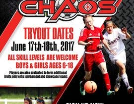 #22 for URGENT Design an Flyer for Soccer Tryouts / Sign ups -- 3 by freeland972