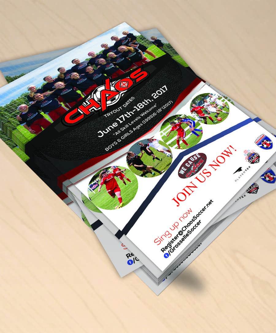 Entry #3 by logicebu for URGENT Design an Flyer for Soccer
