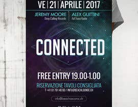 #70 for Design a Flyer | CONNECTED | music club by avizeet85