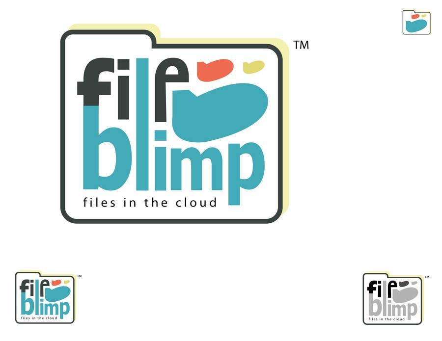 Kilpailutyö #140 kilpailussa Logo Design for fileblimp