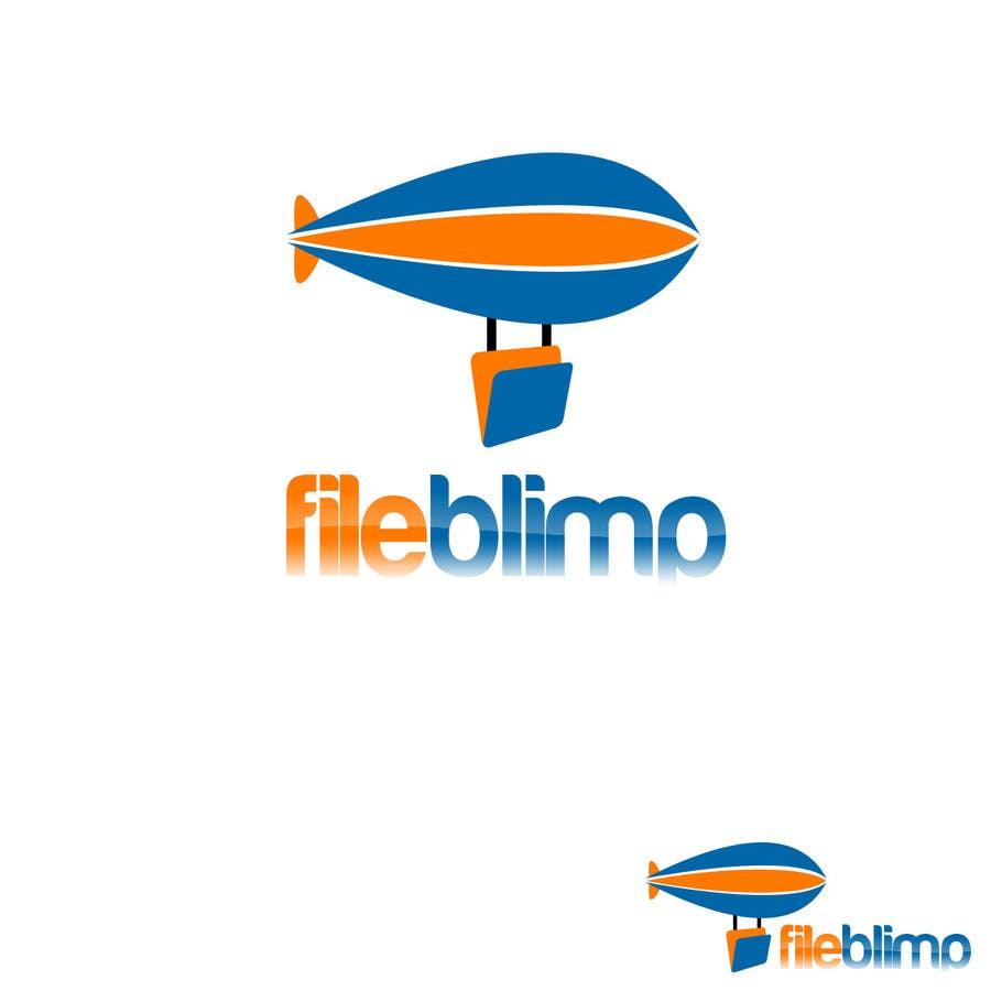 Kilpailutyö #128 kilpailussa Logo Design for fileblimp