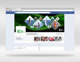 #39 for Design a Facebook Banner For A Fishing Shop by Creoeuvre