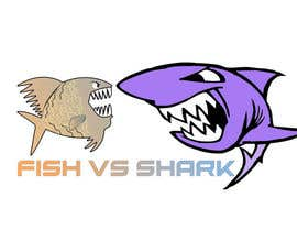 #15 for Fish vs Shark Icon/Logo by achrafboukili1