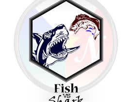 #5 for Fish vs Shark Icon/Logo by geromojanky