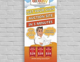 #10 for Create design for roll up banner 100x200 1.006 x 2.066 mm by s04530612