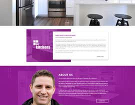 #28 for Design a Website Mockup for Kitchen Business by ByteZappers