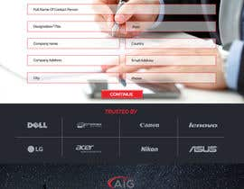 #198 for Redesign the home page of AIG'S website by farihapenon