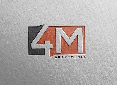 #29 for Design a Logo for 4M Apartments by nextlove