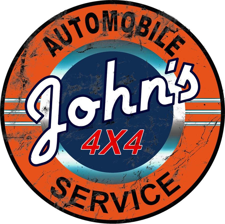 Inscrição nº 93 do Concurso para Logo Design for John's 4x4 Auto Center