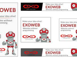 #4 for Design a Banner for Exoweb campaign by debeljic