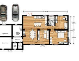 #16 for Update floor plan in existing family home by gumenka