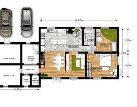 #26 para Update floor plan in existing family home por gumenka