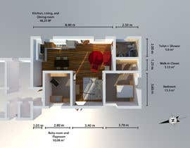 #6 for Update floor plan in existing family home by bluegreysky