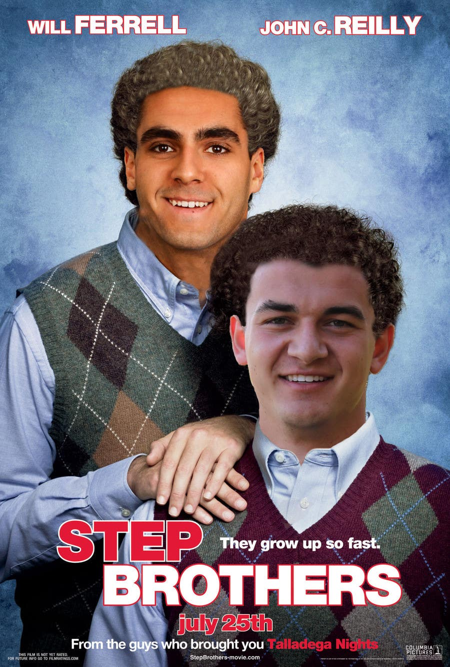 Contest Entry #2 for Step Brothers Photo Shop