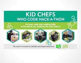#26 for Design a Banner: Kid Chefs Who Code Hack-a-Thon by andmericano