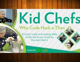 #29 for Design a Banner: Kid Chefs Who Code Hack-a-Thon by Amalbasti