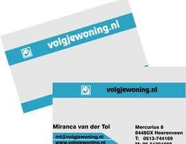 #43 for Ontwerp enkele Visitekaartjes for internet business volgjewoning.nl af TATHAE