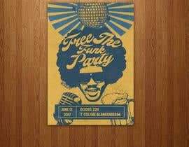 #12 for free the funk flyer by sairalatief