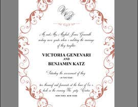#11 for Design some Wedding Stationery by Creoeuvre