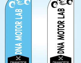 #8 for Motorcycle shop swooper banner design by GalibAzad