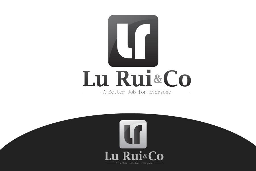 Inscrição nº                                         5                                      do Concurso para                                         Logo Design for Lu Rui & Co: A Better Job for Everyone