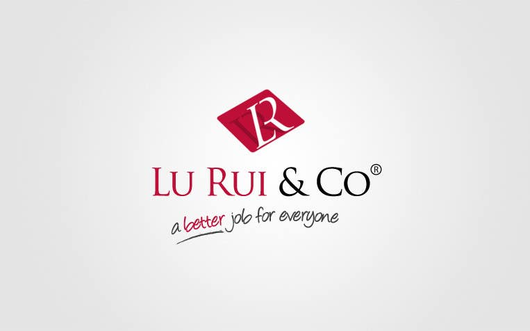 Inscrição nº                                         20                                      do Concurso para                                         Logo Design for Lu Rui & Co: A Better Job for Everyone