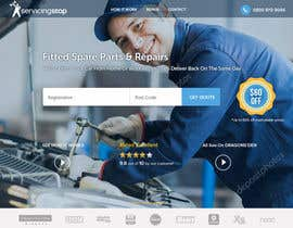 #266 for Landing page for car servicing company - Web design by bestwebthemes