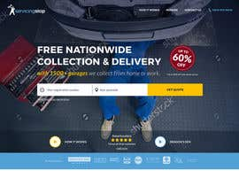 #87 for Landing page for car servicing company - Web design by Rybnipet
