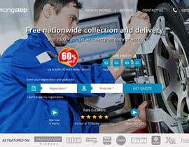 #250 for Landing page for car servicing company - Web design by sunsoftpro
