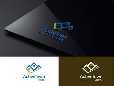 #67 for activetown.com logo design. by kopalkharap