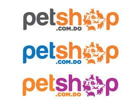 #352 para Logo Design for petshop.com.do por dyymonn