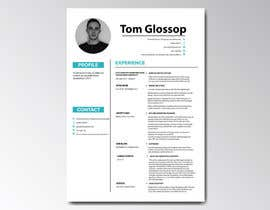 #7 for Design CV. Professional business style by sashiponcox