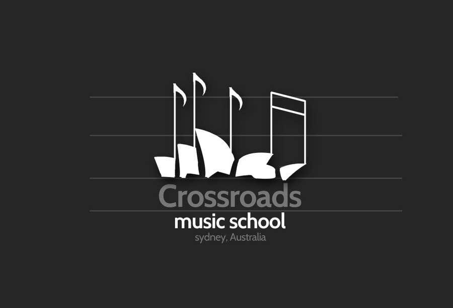 Konkurrenceindlæg #                                        56                                      for                                         Logo Design for Crossroads Music School