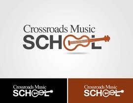 #11 para Logo Design for Crossroads Music School por IzzDesigner
