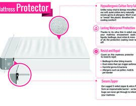 #10 for Design a 3d model infographic for our mattress protector by aindrila1985