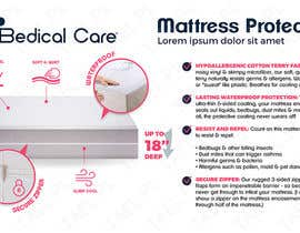 #8 for Design a 3d model infographic for our mattress protector by pbobek
